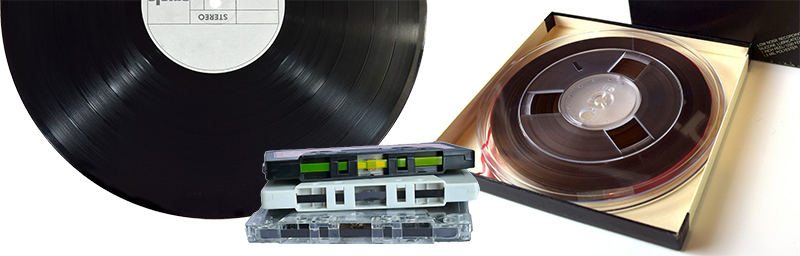 Analog audio tapes
