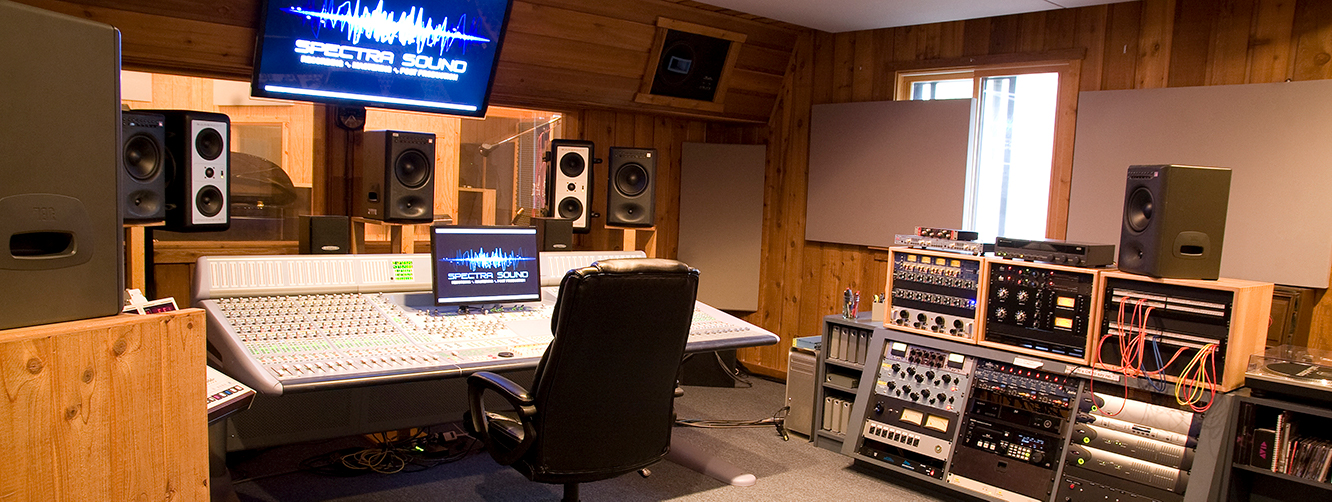 Spectra Sound Control Room